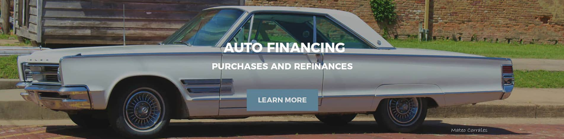 Auto Financing for new, used and low credit scores.